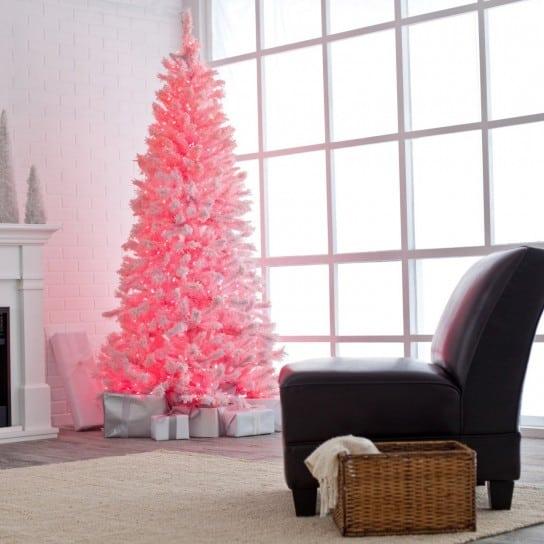 Albero di Natale colorato tante idee per addobbare con stile   Tuttoferramenta Blog
