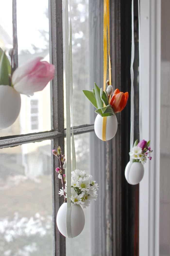 DIY di Pasqua  decorazioni floreali di Primavera