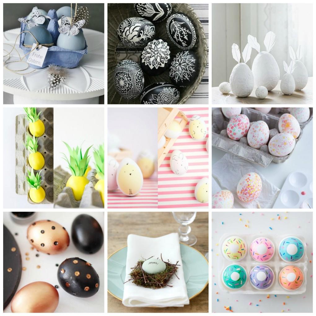 10 idee Fai da te per decorare le Uova di Pasqua  Tuttoferramentait