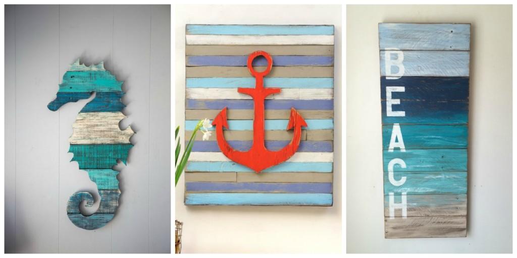 PALLET  Idee creative per arredare la casa al mare