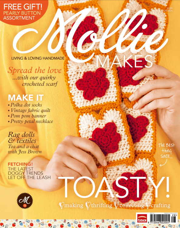 Twinkie chan | Mollie Makes Cover