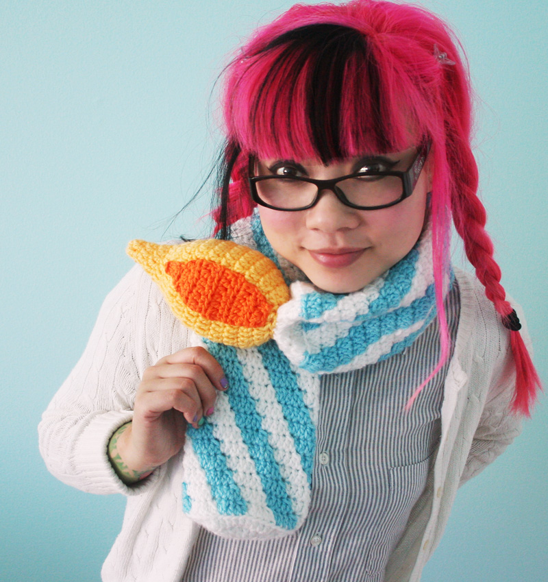 Twinkie Chan | FREE Birthday Candle Scarf