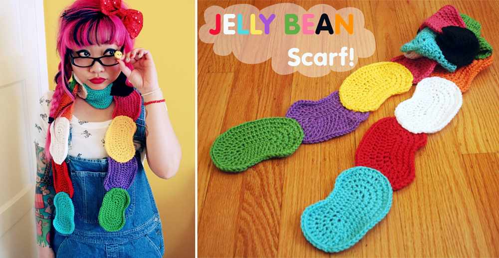 Twinkie Chan | FREE Jelly Bean Scarf