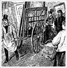 """Original charrette """"cart"""""""