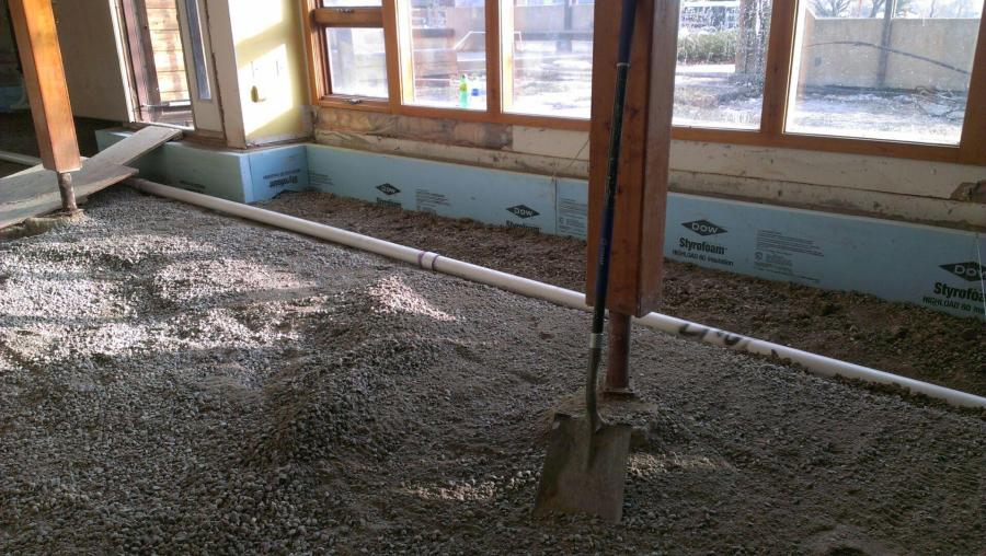 """Insulation to 24"""" at ground level foundation"""