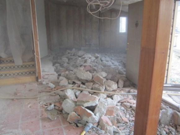 More concrete removal