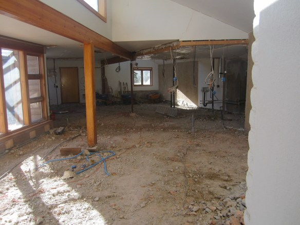 All concrete removed