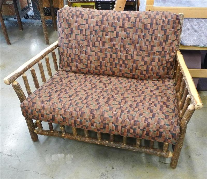 Hickory Love Seat