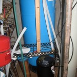 Drain and Chlorine Tank
