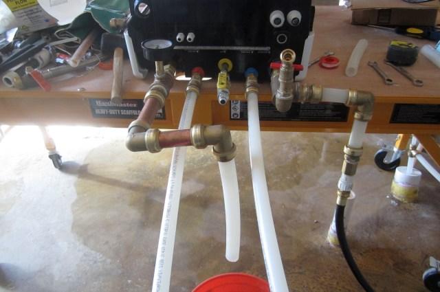 Hydronic testing