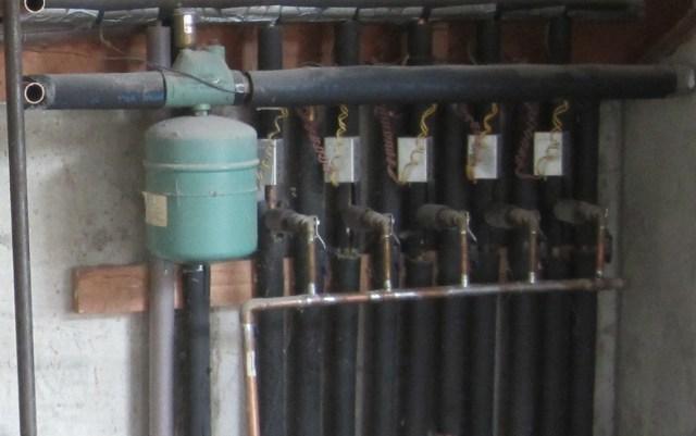 Original Boiler Setup