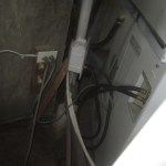 Electrical box and washer hookup