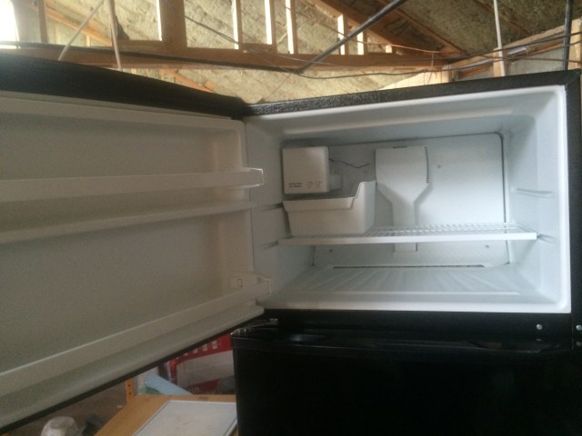 Freezer Box with Ice Maker