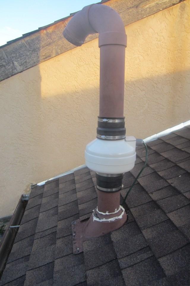 Radon Fan Closeup