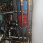 Stove to Water Heater