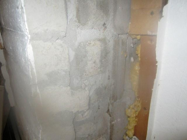 Trombe Wall Inside Detail