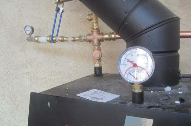 Boiler System holds Air