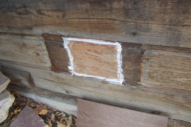 Outside vent