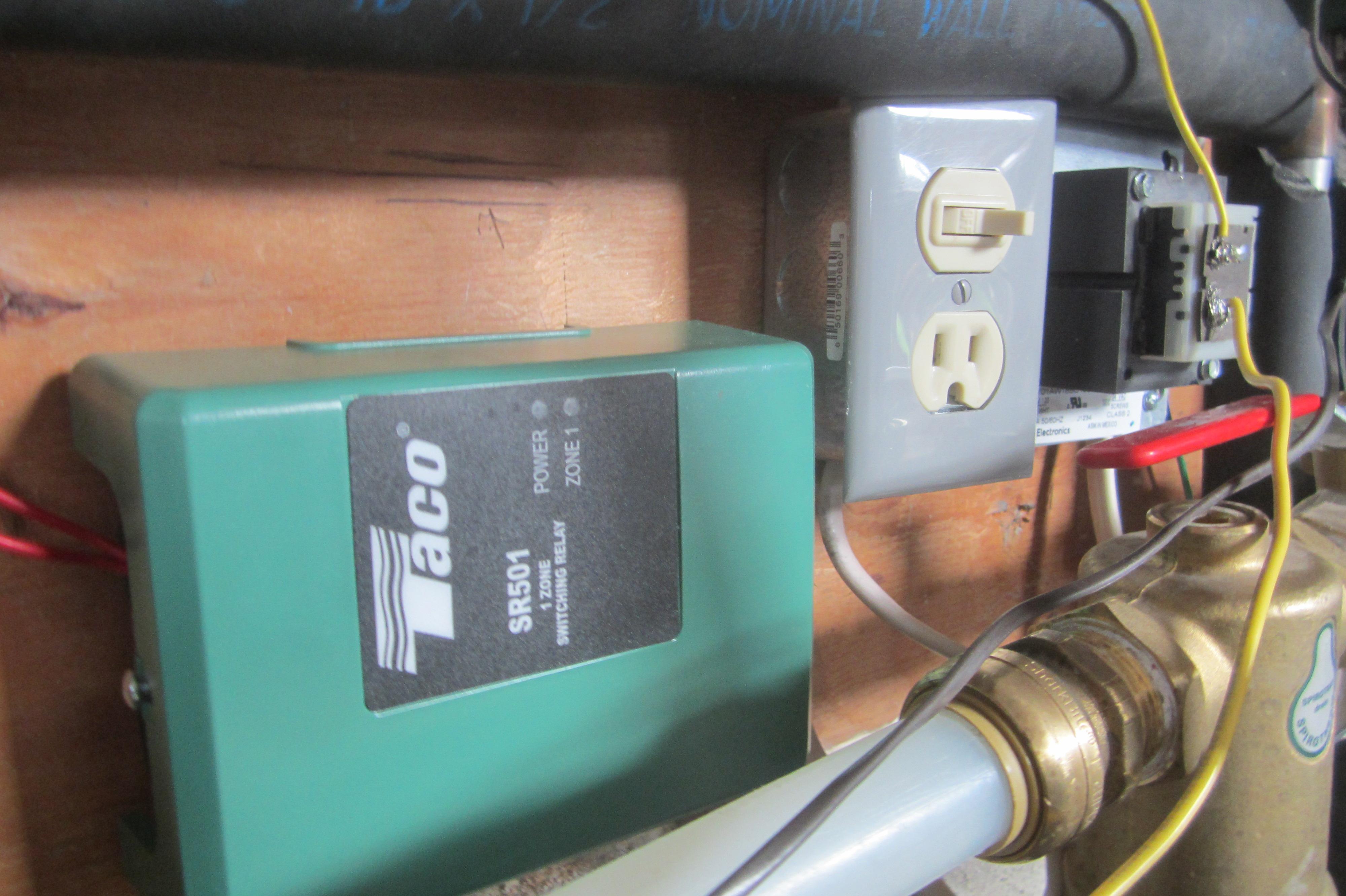taco sr501 wiring diagram mazda sr502 switching relay zone