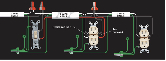 Switched Receptacle