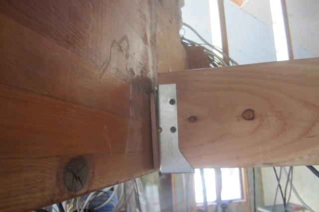 Kitchen Beam on Laminated Beam