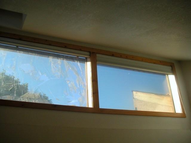Cracked window film