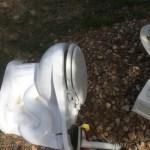 Glacier Bay Victorian toilet