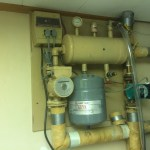 Glycol solar hot water system