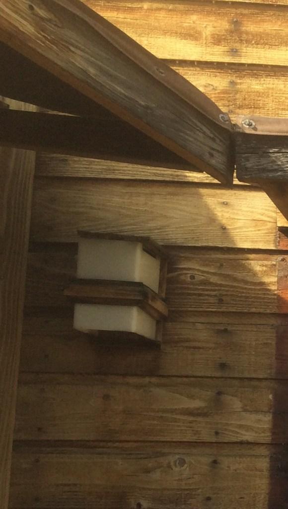 Old porch light