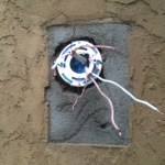 New wall electric box