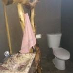 Temporary bathroom