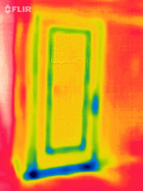 Front Door at Floor