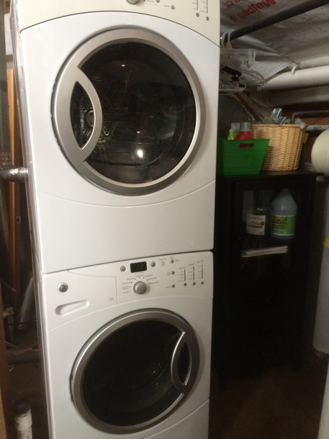 Cabinet beside Washer/Dryer