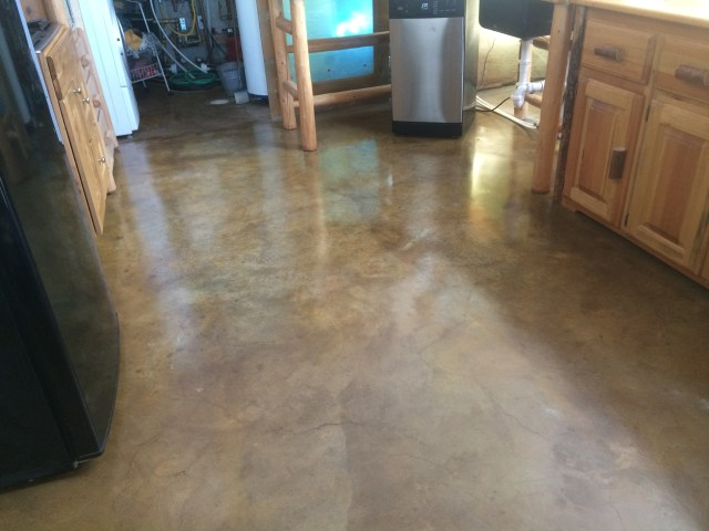 Finished Kitchen Floor
