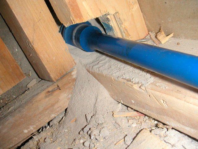 Drilling through Concrete Block