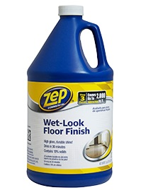 Zep Wet Look Floor Finish