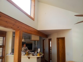 2012 View of Kitchen/Walls