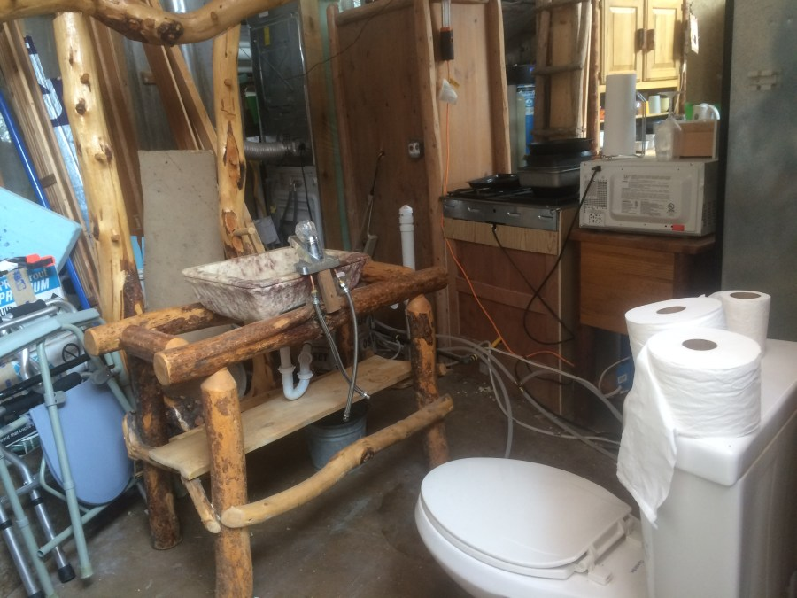 Disconnected Bathroom