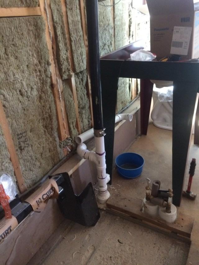 Reconfigured Plumbing