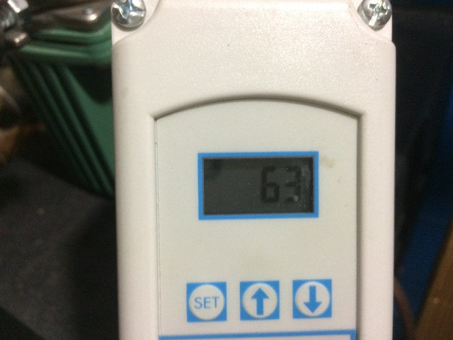 Chiller setting without floor cooling