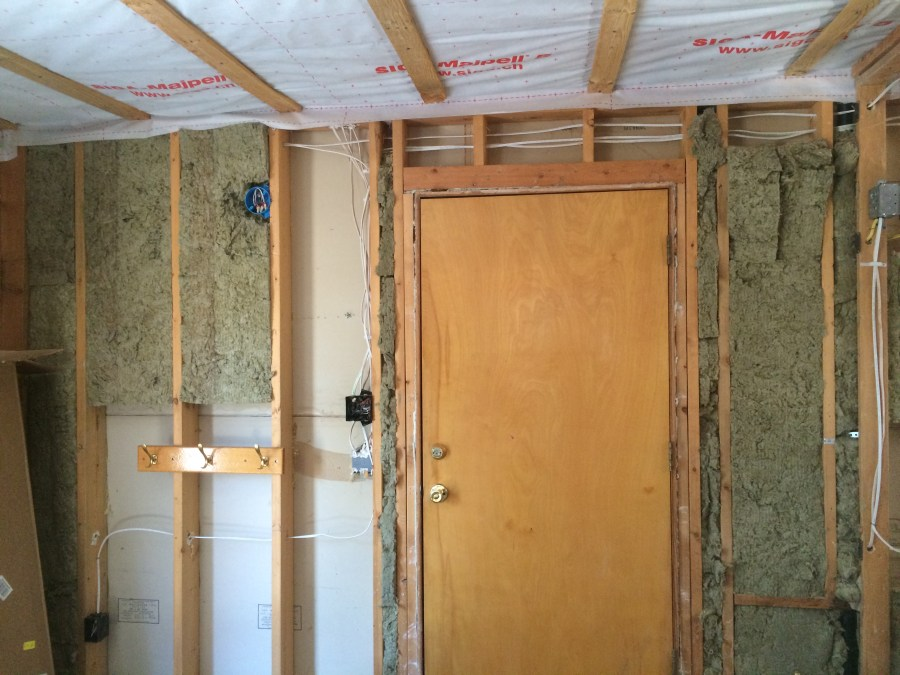 Garage Wall Wiring