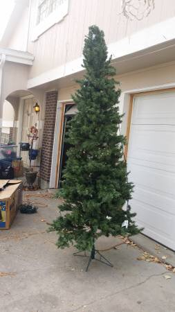 Craigslist 9 ft. tree