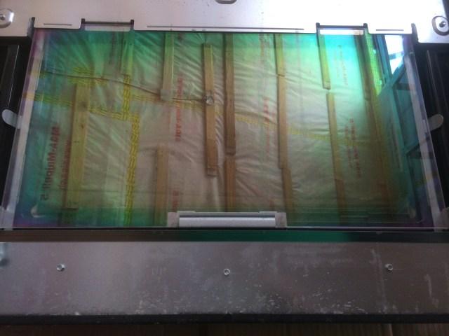 Disassembled Oven Door
