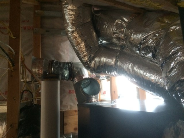 Ductwork through the roof