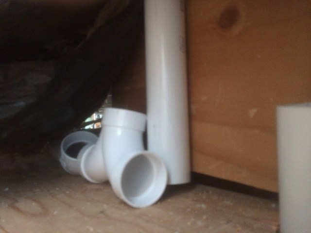 Double inlet piping