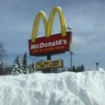 New York Snow Piles