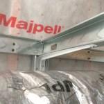 Shelf bracket to support shaft