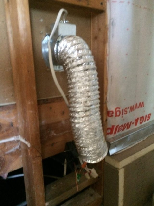 Ducting for Crawlspace Ventilation Fan
