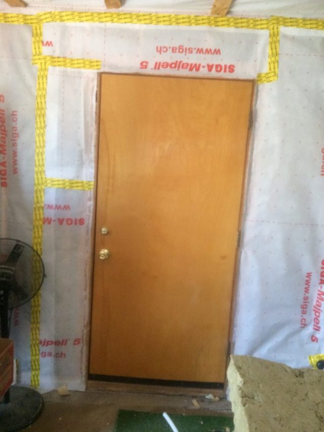 Airlock Entry Door to Garage