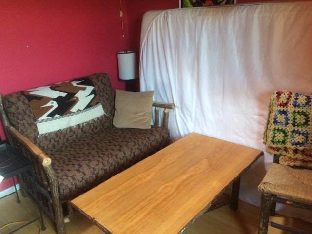 Back bedroom sitting area
